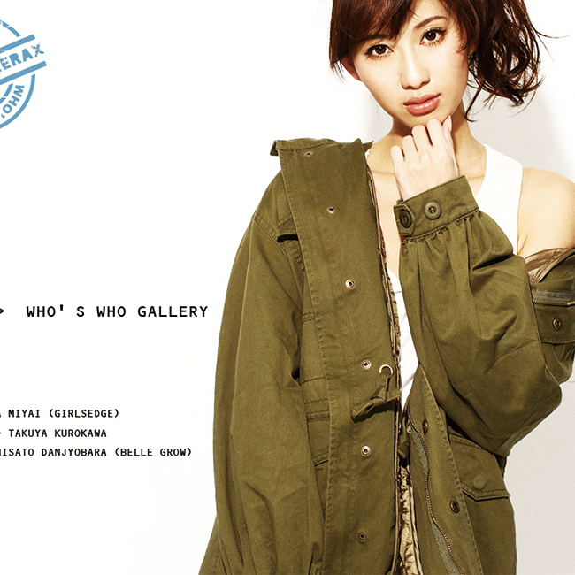 WHO'S WHO GALLERY撮影