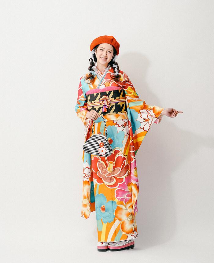 京都着物カタログ撮影<br>model / SAKI<br>work / モデル,カメラマン,ヘアメイク