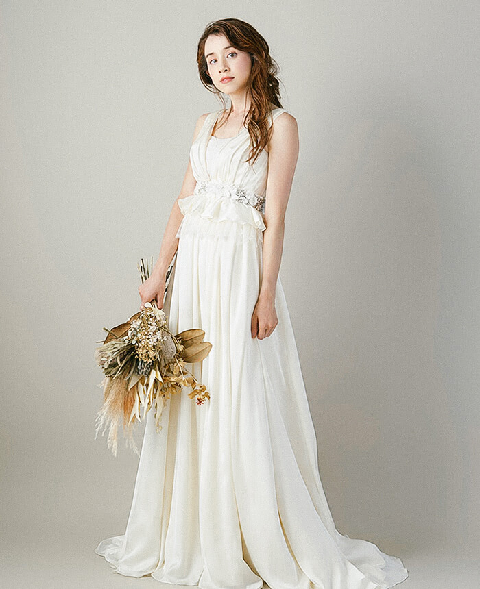 BRIDAL CATALOG LOOKBOOK A/W<br>work / モデル