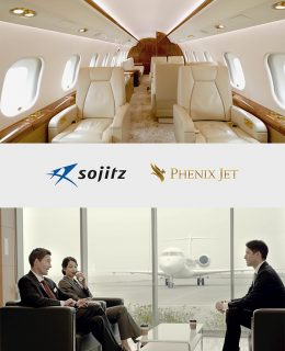 PRIVATE JET PROMOTION PV<br>work / モデル