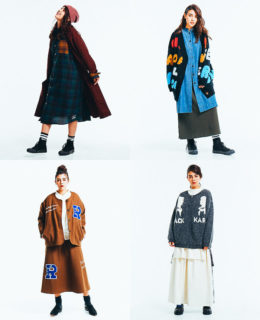 LADIES'BRAND A/W ONLINE<br>work / モデル